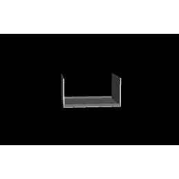 Angle sortrant soudé, 500x500mm